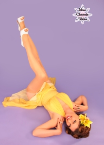 The Classic Pinup Shot